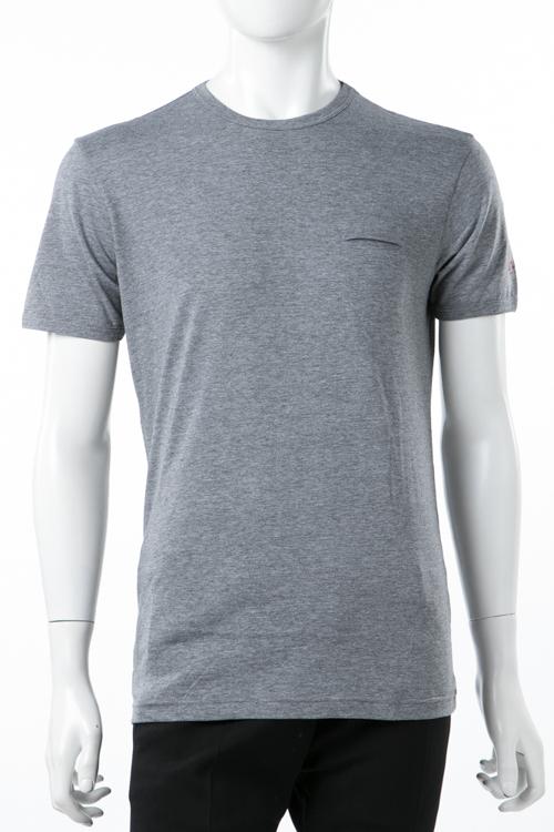 ダニエレアレッサンドリーニ DANIELEALESSANDRINI Tシャツ 半袖 丸首 MAGLIA GIOSTRA ST メンズ M90223706 グレー 送料無料 楽ギフ_包装 10%OFFクーポンプレゼント