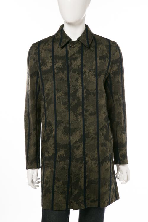 ルシアンペラフィネ lucien pellat-finet ペラフィネ コート メンズ YMP460H カーキ 送料無料 10%OFFクーポンプレゼント
