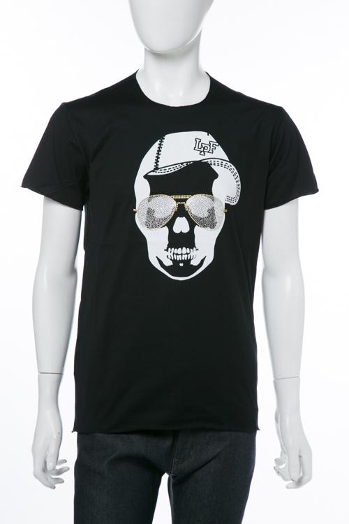ルシアンペラフィネ lucien pellat-finet Tシャツ 半袖 丸首 SP メンズ EVH1980 ブラック 送料無料 楽ギフ_包装 10%OFFクーポンプレゼント 【ラッキーシール対応】