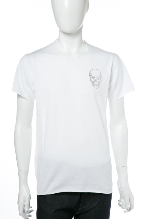 ルシアンペラフィネ lucien pellat-finet ペラフィネ Tシャツ 半袖 丸首 SP メンズ EVH1982 ホワイト 送料無料 楽ギフ_包装 10%OFFクーポンプレゼント