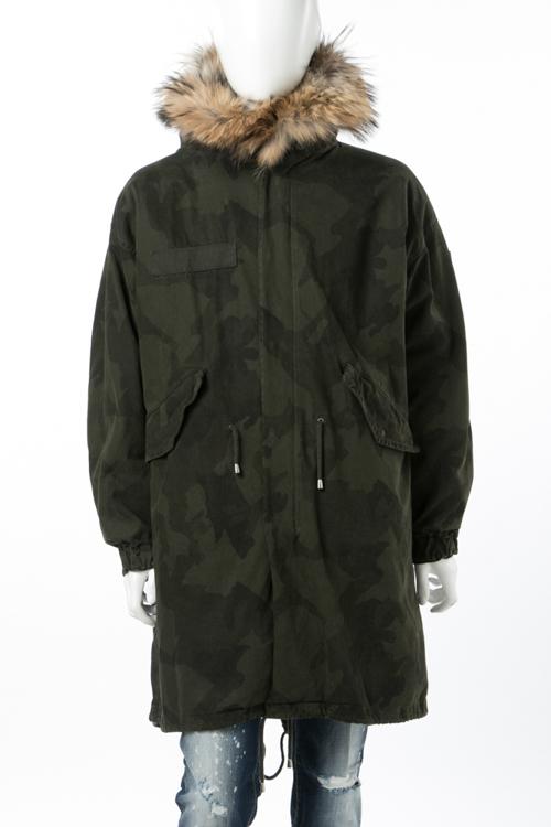 バーベッド BARBED コート モッズコート メンズ A-M72L31STCAM 迷彩 送料無料 10%OFFクーポンプレゼント