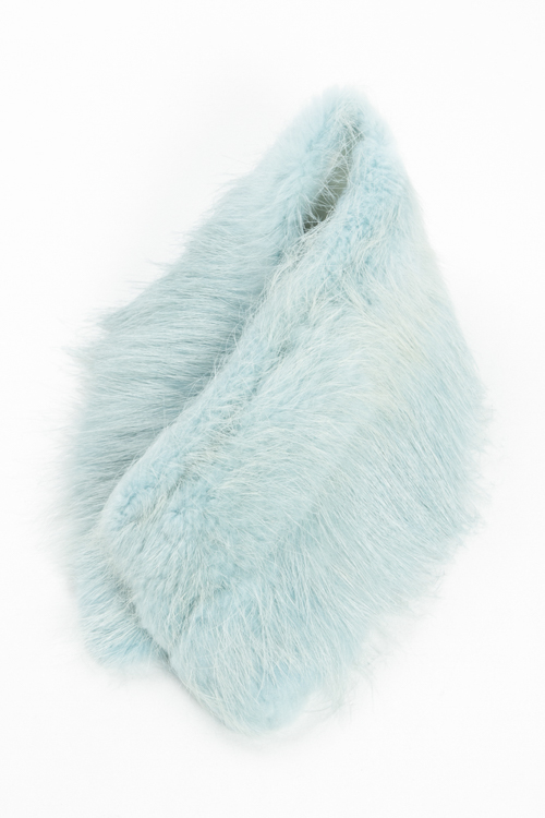 ジャストカヴァリ ジャストカバリ JUST CAVALLI スカーフ ファーマフラー TH0007 08247 ブルー 送料無料 楽ギフ_包装 3000円OFF クーポンプレゼント