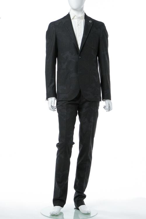 ハイドロゲン HYDROGEN スーツ 2つボタン サイドベンツ シングル メンズ 190300 ANTHRAメイサイ 送料無料 楽ギフ_包装 10%OFFクーポンプレゼント 【ラッキーシール対応】
