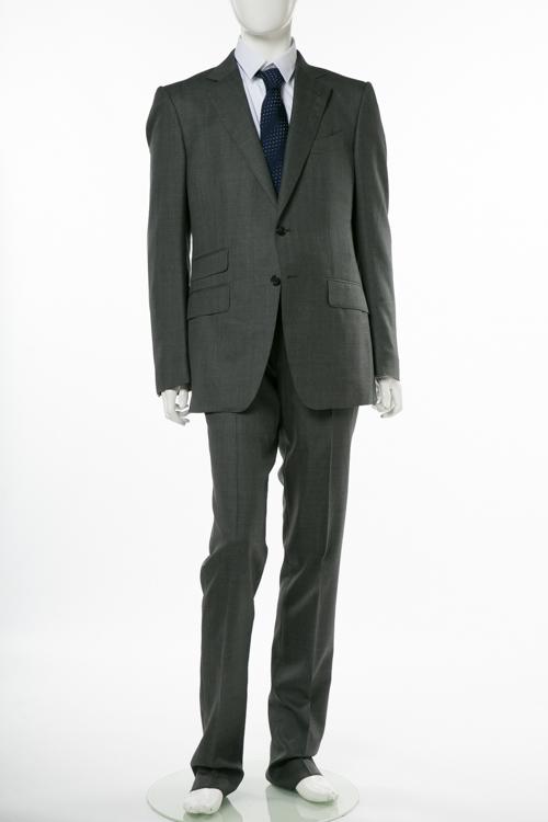 トムフォード TOM FORD スーツ 2ピーススーツ ビジネススーツ 7R D メンズ 222R34 21YA4C グレー 送料無料 10%OFFクーポンプレゼント