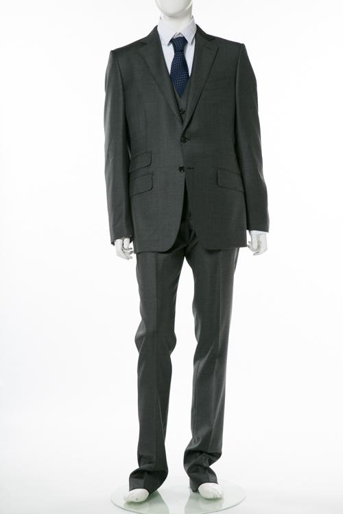 トムフォード TOM FORD 3ピーススーツ ビジネススーツ 7R B メンズ 222R01 31YA4C ダークグレイ 送料無料 10%OFFクーポンプレゼント