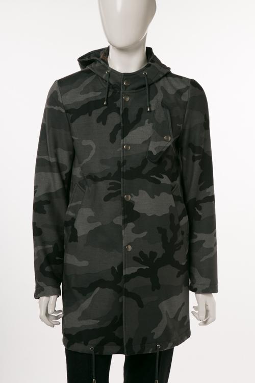 ダニエレアレッサンドリーニ DANIELEALESSANDRINI コート ロングコート GABAN BOLLENTE SF メンズ X802M465S3706 迷彩 送料無料 10%OFFクーポンプレゼント