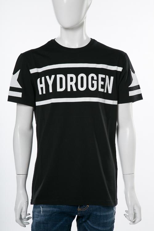 ハイドロゲン HYDROGEN Tシャツ 半袖 丸首 メンズ 225611 ブラック 送料無料 楽ギフ_包装 10%OFFクーポンプレゼント HYDネット限定価格 【ラッキーシール対応】