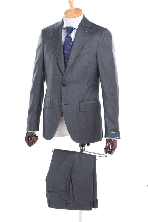 【期間限定10%OFFクーポン配布】ラルディーニ LARDINI 2ピーススーツ シングル EE0423AV BRJVAWGE メンズ 423AV BRJVAWGE0 ダークグレイ 送料無料 10%OFFクーポンプレゼント 【ラッキーシール対応】