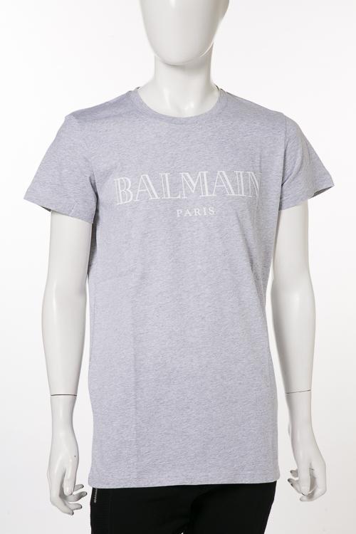 BLANC-WHITE ロゴT Tシャツ バルマン 100/ S8H 8601 I157