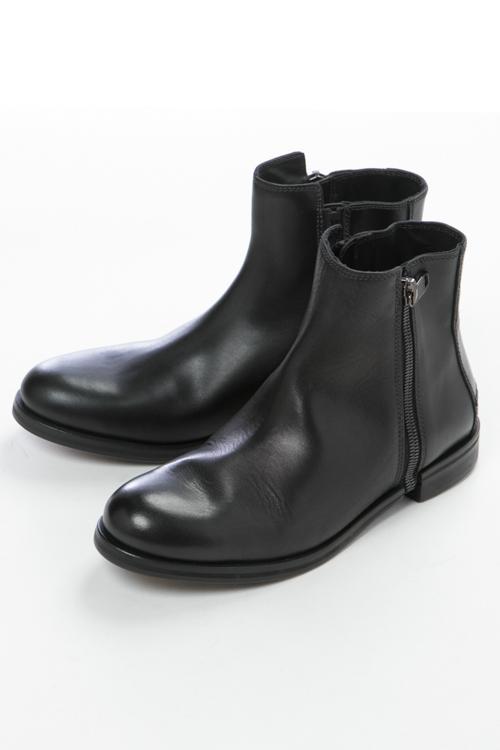 【スーパーSALE 全品10%OFFクーポン配布中】ディーゼル DIESEL ブーツ ショートブーツ ZIP-ROUND DRESSY D-ZIPPHIM C メンズ Y01438 PR013 ブラック 送料無料 10%OFFクーポンプレゼント
