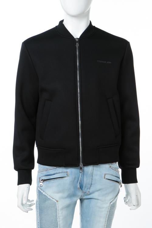 ニールバレット Neil Barrett ブルゾン ジャケット メンズ BJS349S G523S ブラック 送料無料 10%OFFクーポンプレゼント 2018年春夏新作 2018SS_SALE 【ラッキーシール対応】