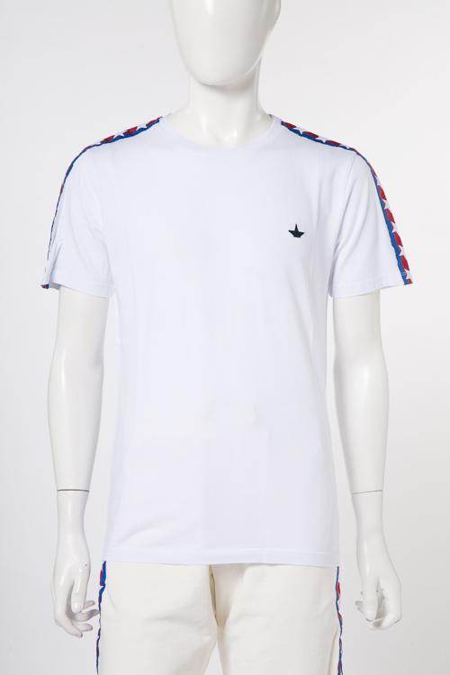 マッキアジェー MACCHIA J Tシャツ 半袖 丸首 メンズ 18SMT 09 T3014 ホワイト 送料無料 楽ギフ_包装 10%OFFクーポンプレゼント