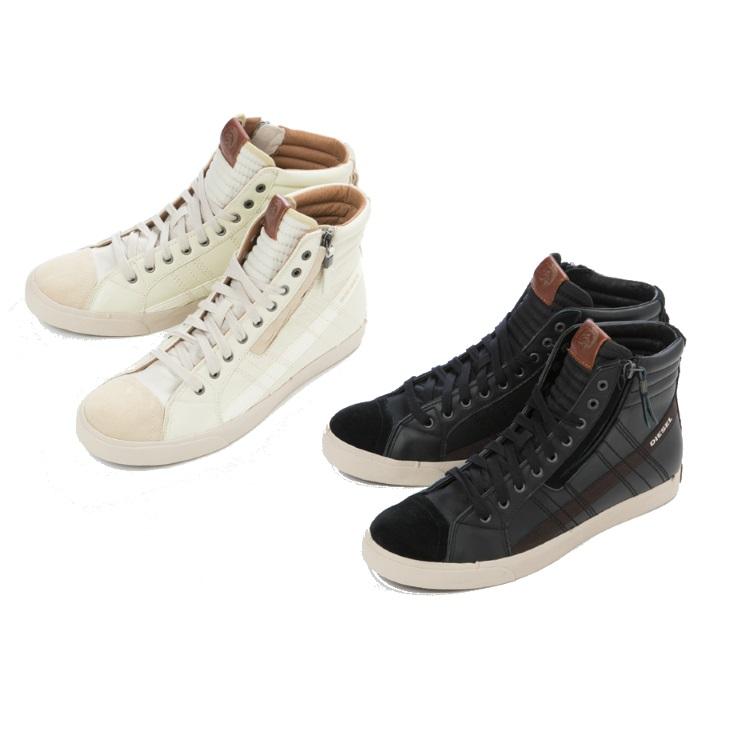【期間限定10%OFFクーポン配布】【10%OFFクーポンプレゼント】ディーゼル DIESEL 靴 スニーカー ハイカット シューズ メンズ (D-VELOWS D-STRING - sneakers) Y00781 PR131 送料無料 【ラッキーシール対応】