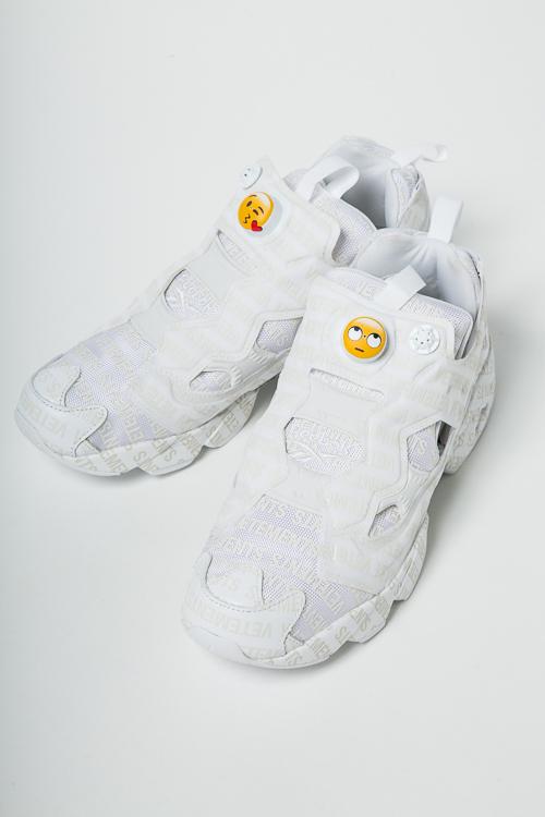 ヴェトモン Vetements スニーカー ハイカット シューズ 靴 MSS18RE2 メンズ CN3764 ホワイト 送料無料 10%OFFクーポンプレゼント 2018年春夏新作 【ラッキーシール対応】