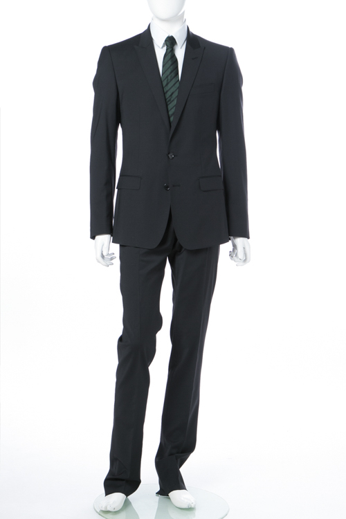 ドルチェ&ガッバーナ ドルガバ DOLCE&GABBANA 2ピーススーツ シングル MARTINI メンズ G14ZMT FUCCX ブラック 送料無料 10%OFFクーポンプレゼント 【ラッキーシール対応】