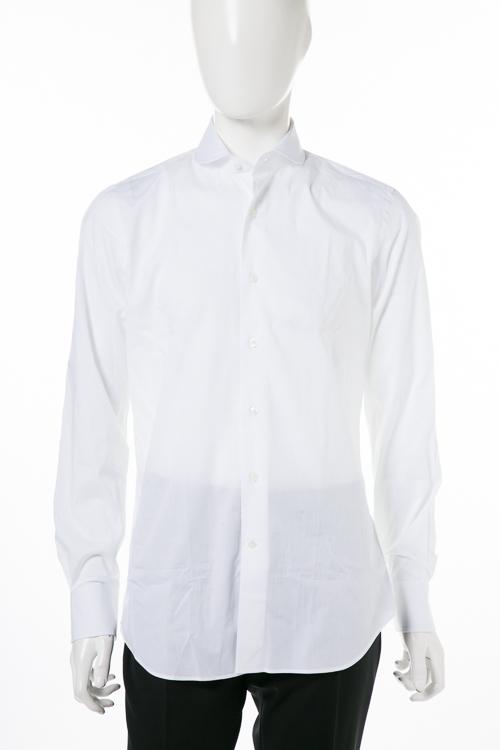 【期間限定10%OFFクーポン配布】バグッタ BAGUTTA シャツ ワイシャツ 長袖 メンズ B186L 00021 ホワイト 送料無料 楽ギフ_包装 10%OFFクーポンプレゼント 【ラッキーシール対応】