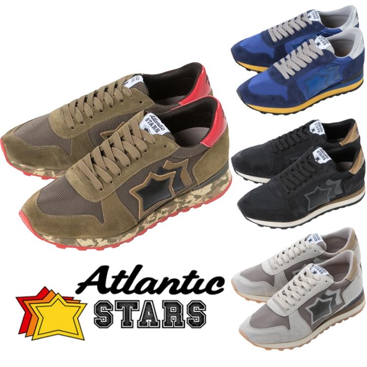 【期間限定10%OFFクーポン配布】アトランティックスターズ ATLANTIC STARS スニーカー ローカット シューズ 靴 vibram メンズ ARGO 送料無料 10%OFFクーポンプレゼント 2018SS_SALE 【ラッキーシール対応】