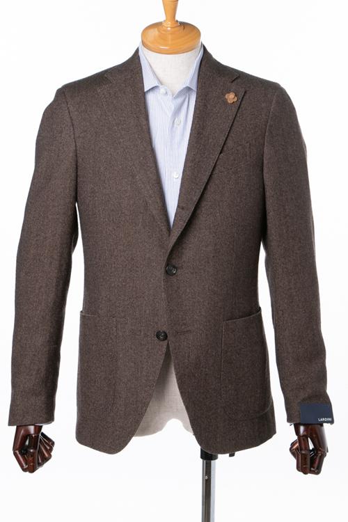 ラルディーニ LARDINI ジャケット テーラードジャケット シングル ST IG0557AE IA45096 メンズ IG0557AE 45096 ブラウン 送料無料 10%OFFクーポンプレゼント アウトレット 【ラッキーシール対応】