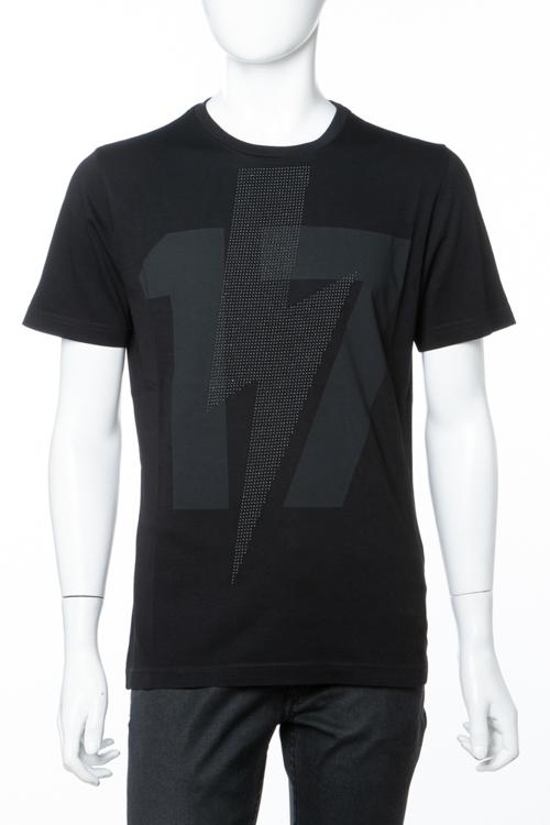 ハイドロゲン HYDROGEN Tシャツ 半袖 丸首 クルーネック メンズ 230124 ブラック 送料無料 楽ギフ_包装 10%OFFクーポンプレゼント 2018年秋冬新作