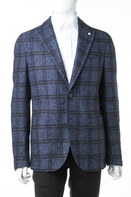 ルイジビアンキ L.B.M.1911 LUIGI.BIANCHI.MANTOVA ジャケット テーラードジャケット シングル メンズ 2888 75055 2 ネイビー 送料無料 3000円OFF クーポンプレゼント