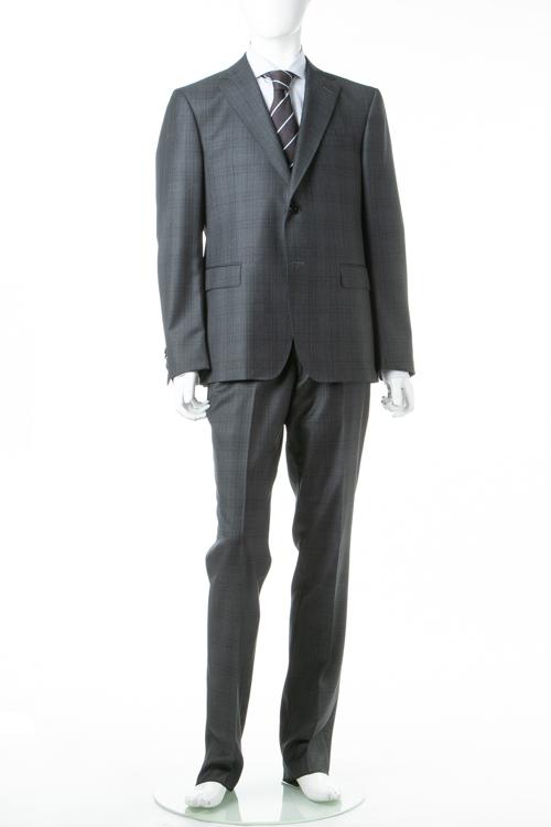 ジーゼニア Z ZEGNA 2ピーススーツ シングル 1 DROP7 メンズ 28QCGN 222741 ダークグレイ 送料無料 10%OFFクーポンプレゼント 【ラッキーシール対応】
