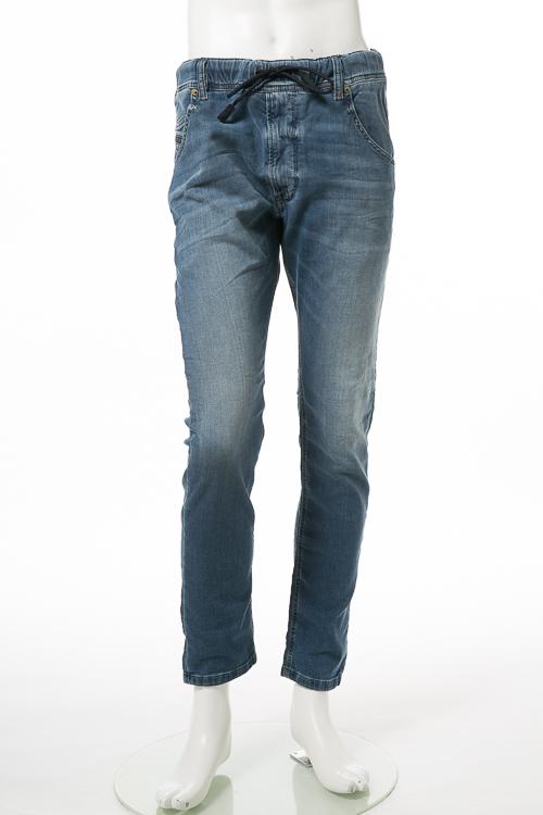【期間限定10%OFFクーポン配布】ディーゼル DIESEL ジーンズパンツ デニム JOGGJEANS ジョグジーンズ ジョガーパンツ KROOLEY R-NE Sweat jeans メンズ 00S6DD 084CZ ブルー 送料無料 楽ギフ_包装 10%OFFクーポンプレゼント 【ラッキーシール対応】