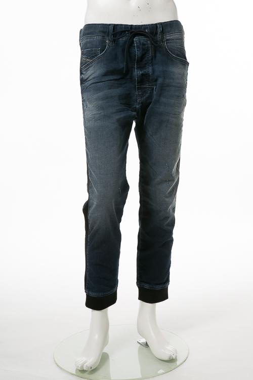 ディーゼル DIESEL ジーンズパンツ デニム JOGGJEANS ジョグジーンズ ジョガーパンツ NARROT-NE JP Sweat jeans メンズ 00SIUG 0670V ブルー 送料無料 楽ギフ_包装 10%OFFクーポンプレゼント