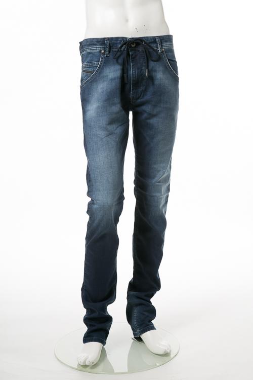 ディーゼル DIESEL ジーンズパンツ デニム JOGGJEANS ジョグジーンズ ジョガーパンツ KROOLEY LONG-NE Sweat jeans メンズ 00SU3E 0674Y ブルー 送料無料 楽ギフ_包装 10%OFFクーポンプレゼント