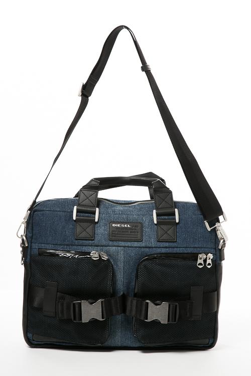 【期間限定10%OFFクーポン配布】ディーゼル DIESEL バッグ ビジネスバッグ M-CARGGO BRIEF - briefcase X04591 P1252 デニム 送料無料 10%OFFクーポンプレゼント 【ラッキーシール対応】