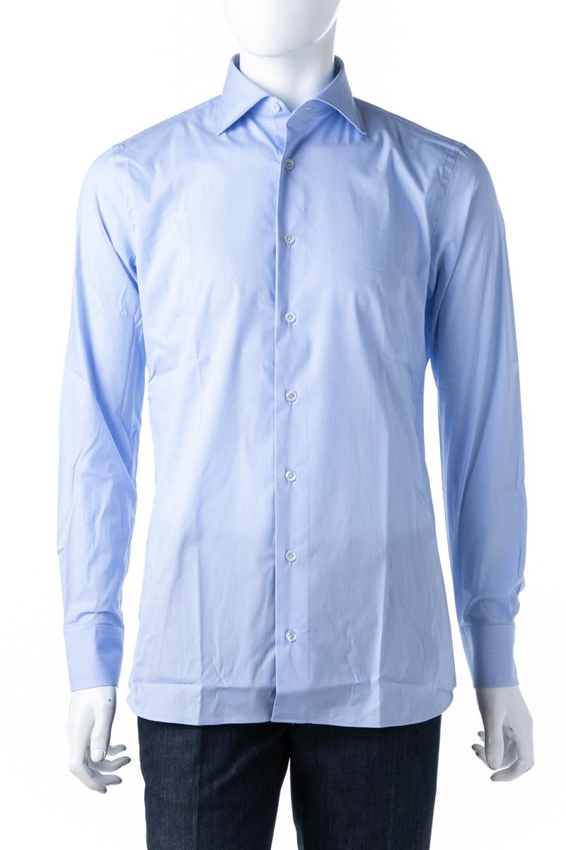 ラルディーニ LARDINI シャツ カッターシャツ ワイシャツ 長袖 EGALVAROCNC2009 810 メンズ EGALVAROCNC2009 ブルー 送料無料 楽ギフ_包装 10%OFFクーポンプレゼント 2019年春夏新作