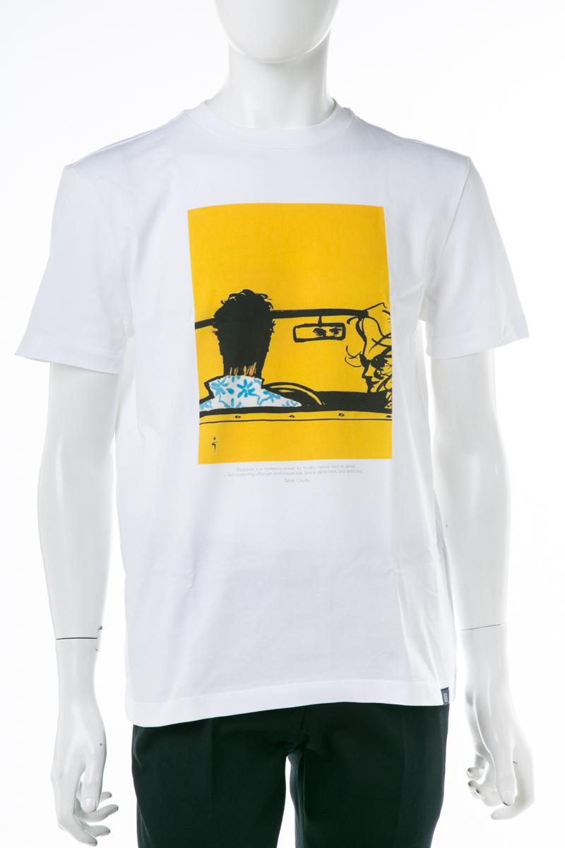 ラルディーニ LARDINI Tシャツ 半袖 丸首 クルーネック EGLTCLUB EG52180 3 メンズ EGLTCLUBEG52180 ホワイトB 送料無料 楽ギフ_包装 2019年春夏新作 10%OFFクーポンプレゼント 【ラッキーシール対応】