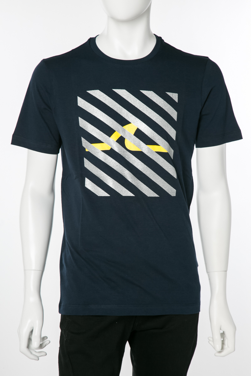 ポールアンドシャーク PAUL&SHARK Tシャツ 半袖 丸首 クルーネック 013 メンズ E19P1123 ネイビー 送料無料 楽ギフ_包装 2019年春夏新作 10%OFFクーポンプレゼント 2019SS_SALE