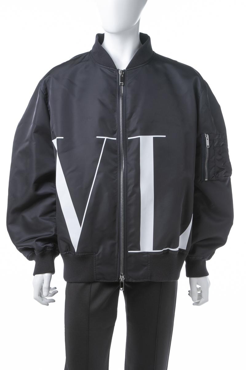 ヴァレンティノ Valentino ブルゾン MA-1 メンズ RV3CIE05MGV ネイビー 送料無料 2019年春夏新作 10%OFFクーポンプレゼント 【ラッキーシール対応】