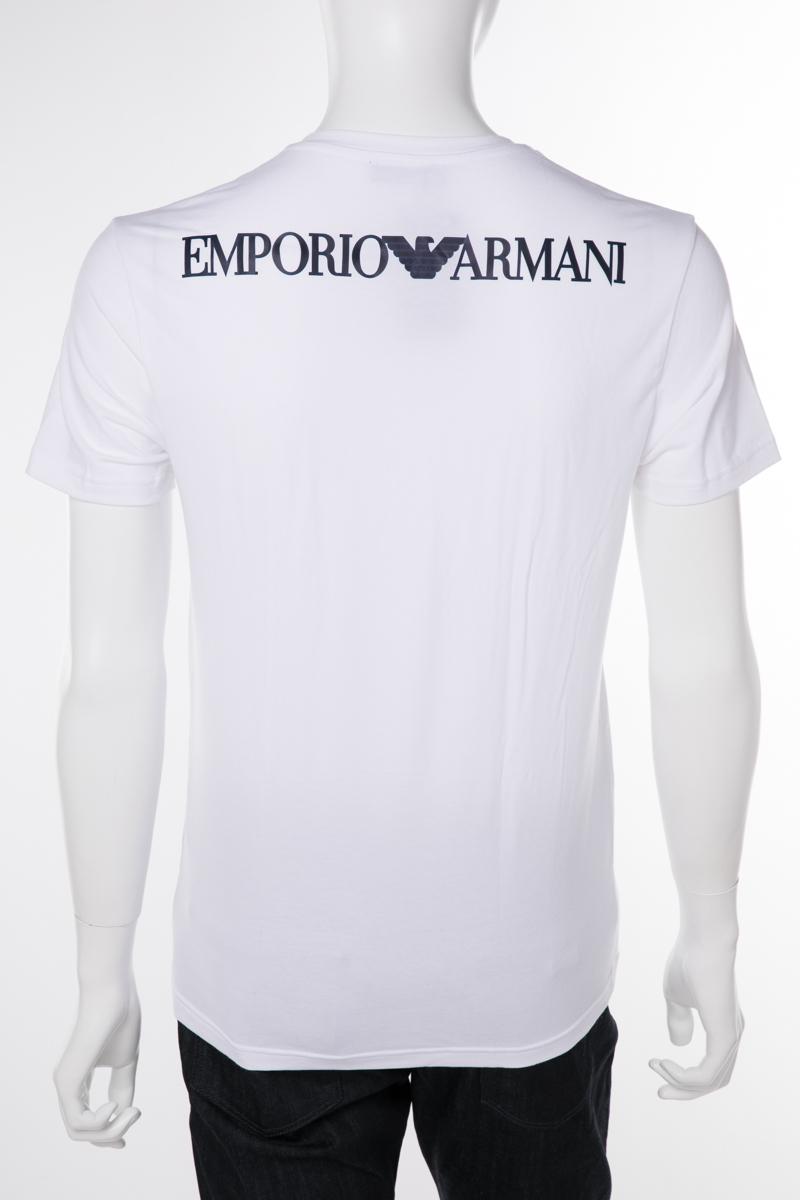 アルマーニ エンポリオアルマーニ Emporio Armani Tシャツアンダーウェア Tシャツ 半袖 Vネック メンズ 111556 9P525 ホワイト 送料無料 楽ギフ_包装 10%OFFクーポンプレゼント 【ラッキーシール対応】
