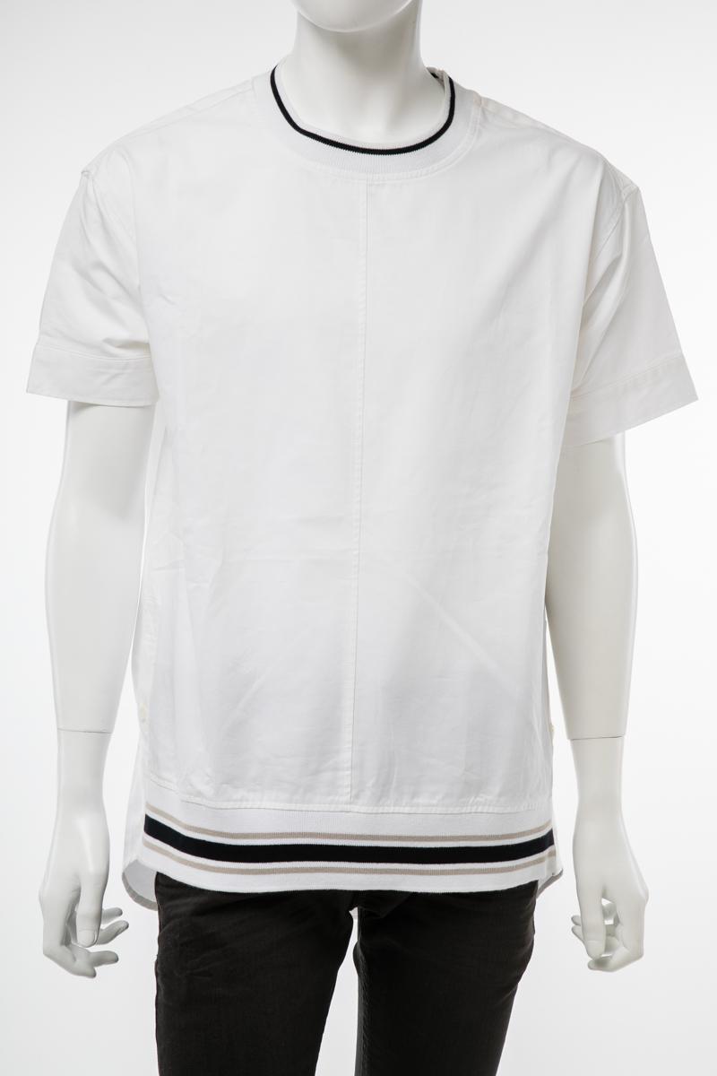 【全品10%OFFクーポン配布中!】ディーゼル DIESEL Tシャツ 半袖 丸首 クルーネック メンズ 00S72J BGCOS ホワイト 送料無料 楽ギフ_包装 10%OFFクーポンプレゼント DSL値下げ 2004値下げ