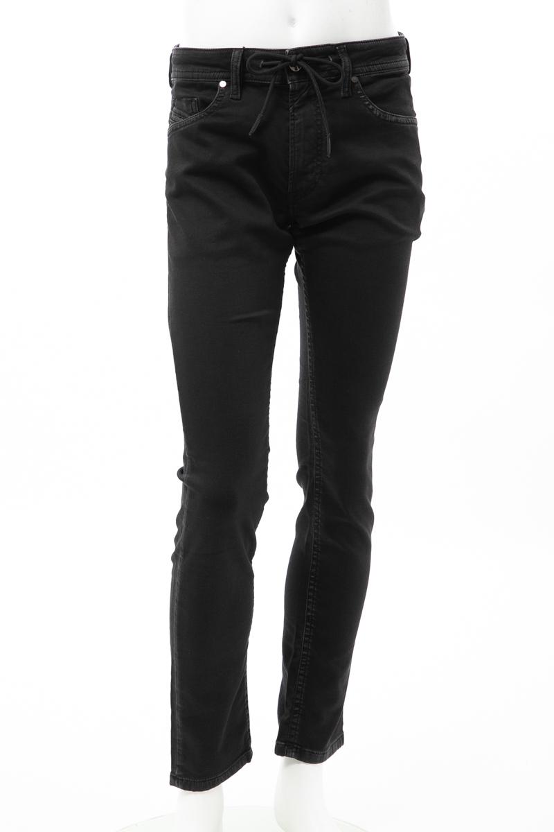 【全品10%OFFクーポン配布中!】ディーゼル DIESEL ジーンズパンツ ジョガーパンツ THOMMER CB-NE Sweat jeans メンズ 00S8MK 0687Z ブラック 送料無料 楽ギフ_包装 10%OFFクーポンプレゼント
