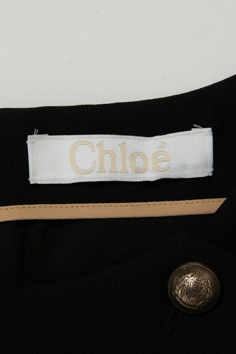 ポイントアップ祭 全品10%OFFクーポン配布中 クロエ Chloe ワンピース 長袖 ミニワンピ レディース CH16SRO626S237 ブラック 送料無料 楽ギフ 包装 10 OFFクーポンプレゼントnOZN80XwPk