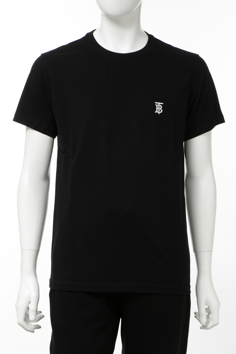 【全品10%OFFクーポン配布中!】バーバリー BURBERRY Tシャツ 半袖 丸首 クルーネック メンズ 8014020 ブラック 送料無料 楽ギフ_包装 10%OFFクーポンプレゼント 2020年春夏新作