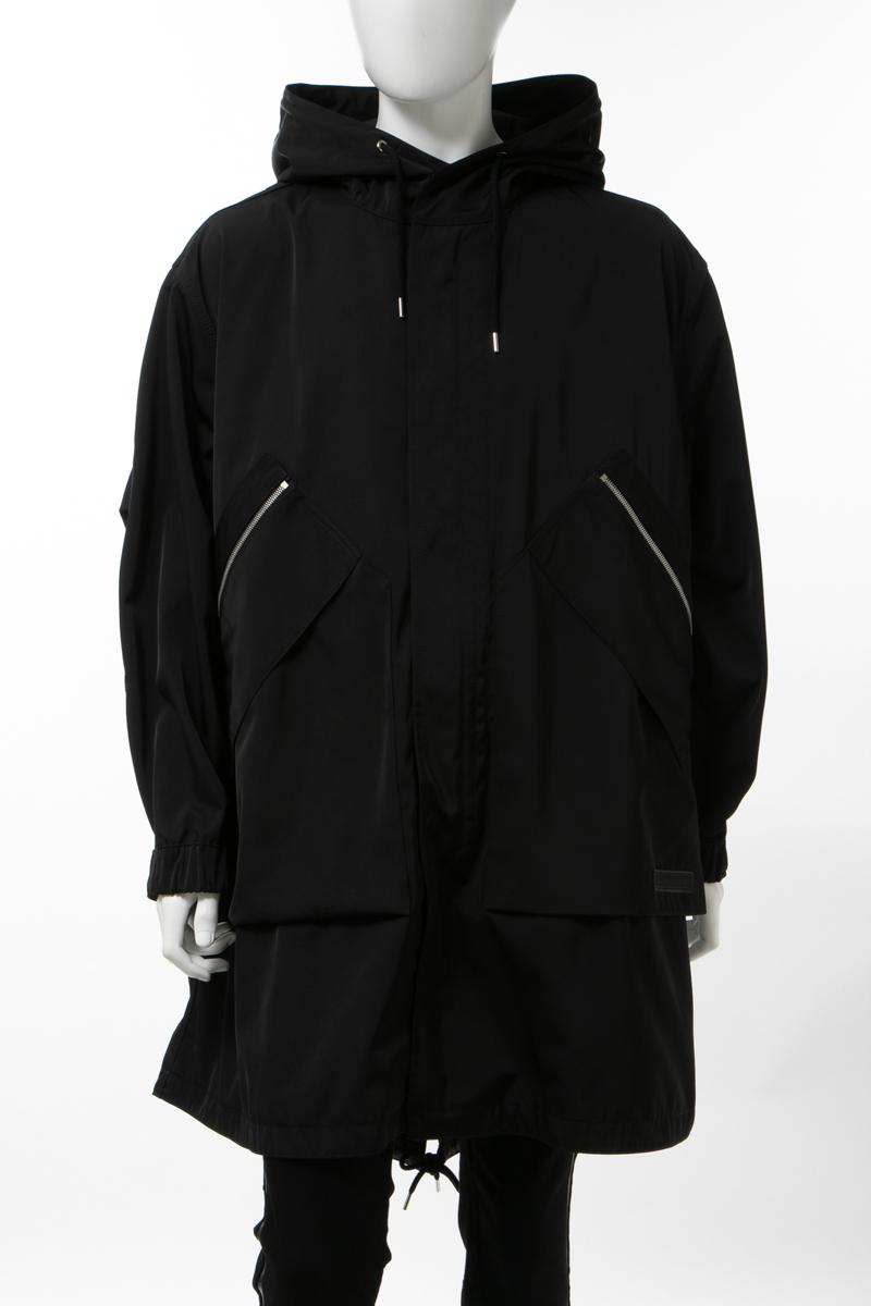 【全品10%OFFクーポン配布中!】ステラマッカートニー STELLA McCARTNEY コート モッズコート メンズ 522069 SLN01 ブラック 送料無料 10%OFFクーポンプレゼント