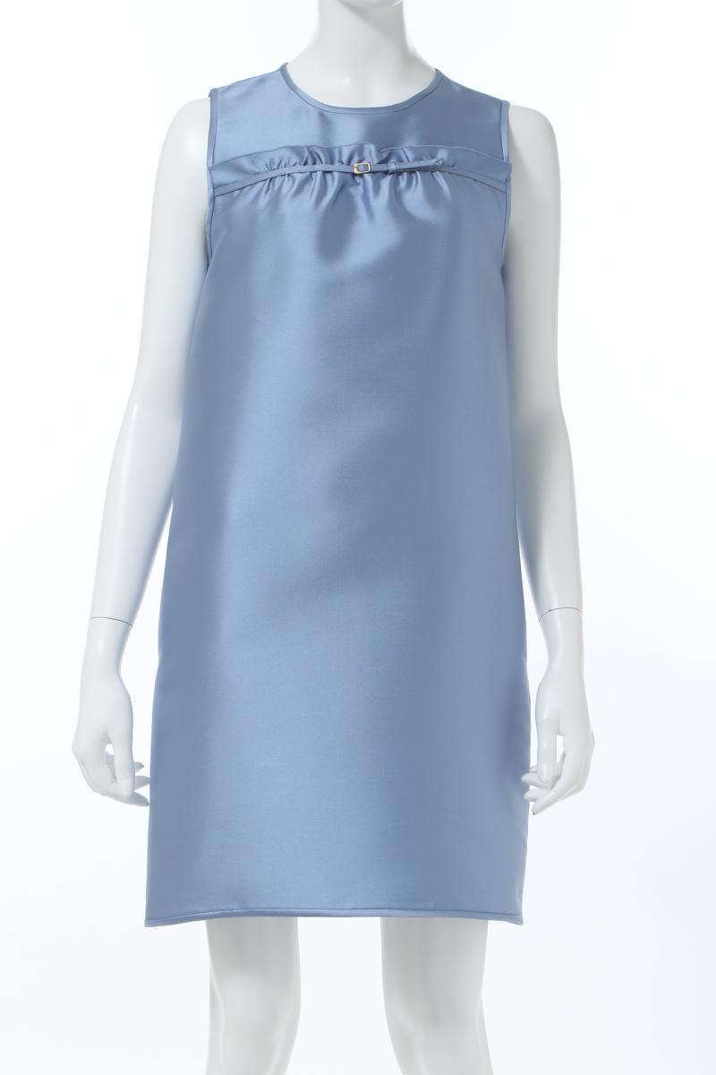 【全品10%OFFクーポン配布中!】ヌメロヴェントゥーノ N°21 ワンピース ドレス ノースリーブ レディース H121 5893 ブルー 送料無料 楽ギフ_包装 10%OFFクーポンプレゼント