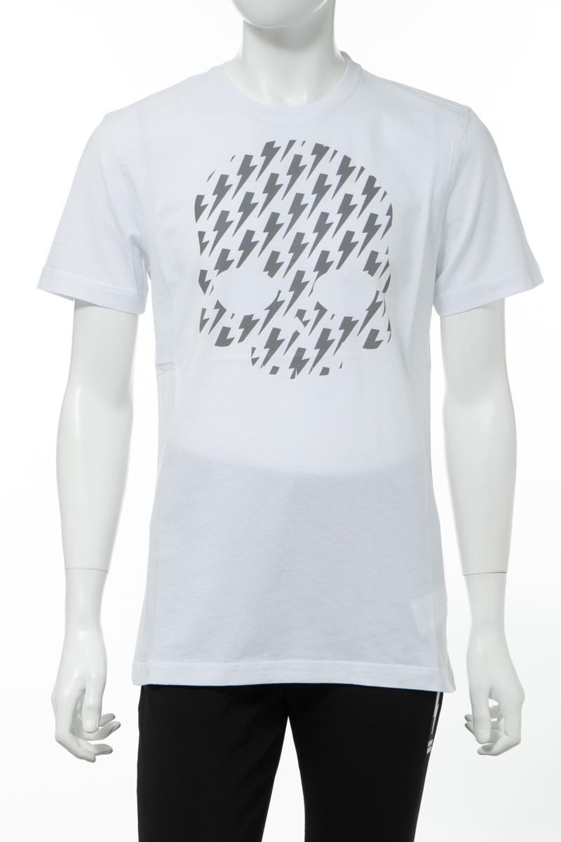 【全品10%OFFクーポン配布中!】ハイドロゲン HYDROGEN Tシャツ 半袖 丸首 クルーネック メンズ 260608 ホワイト 送料無料 楽ギフ_包装 10%OFFクーポンプレゼント 2020年春夏新作