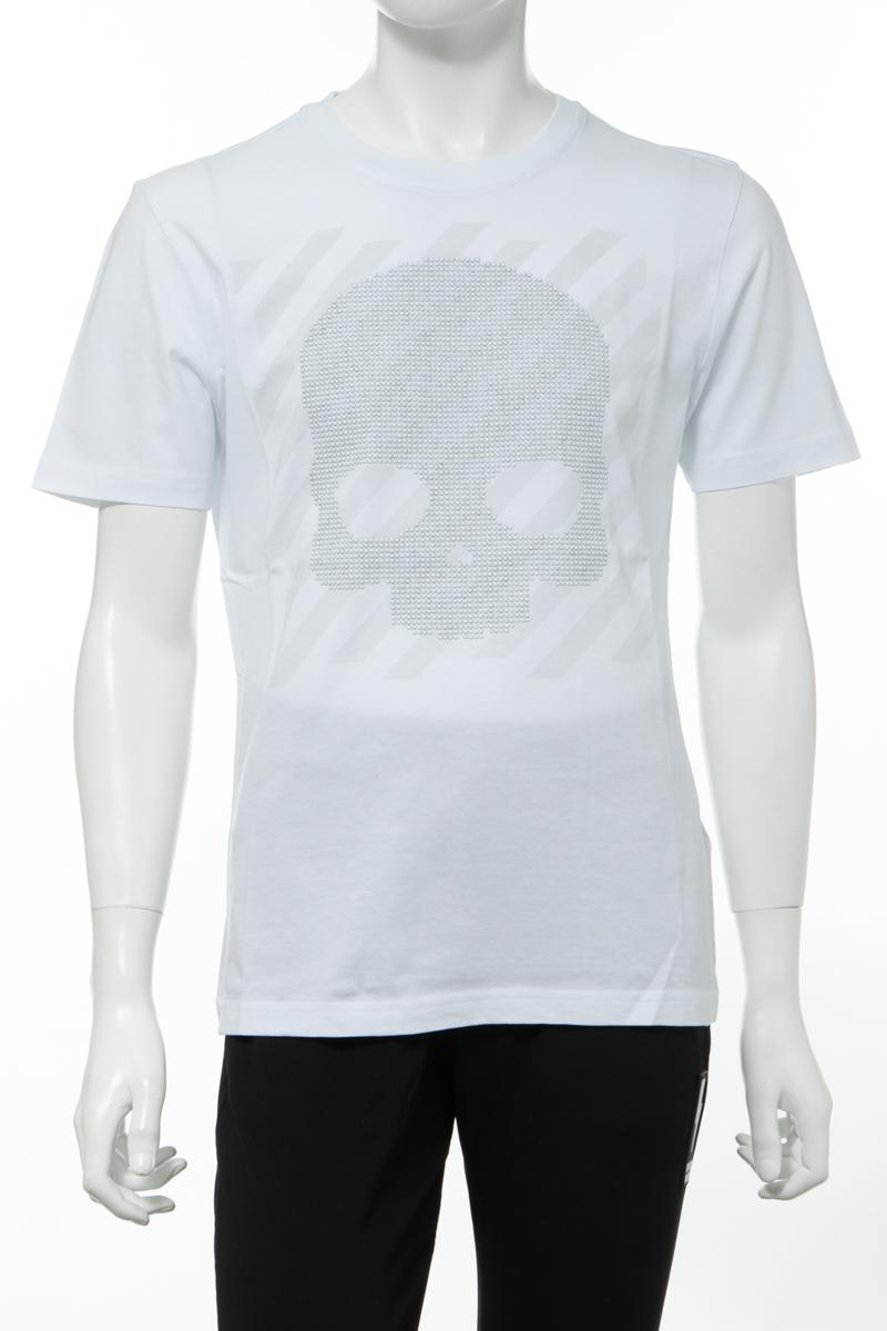 【全品10%OFFクーポン配布中!】ハイドロゲン HYDROGEN Tシャツ 半袖 丸首 クルーネック メンズ 260108 ホワイト 送料無料 楽ギフ_包装 10%OFFクーポンプレゼント 2020年春夏新作