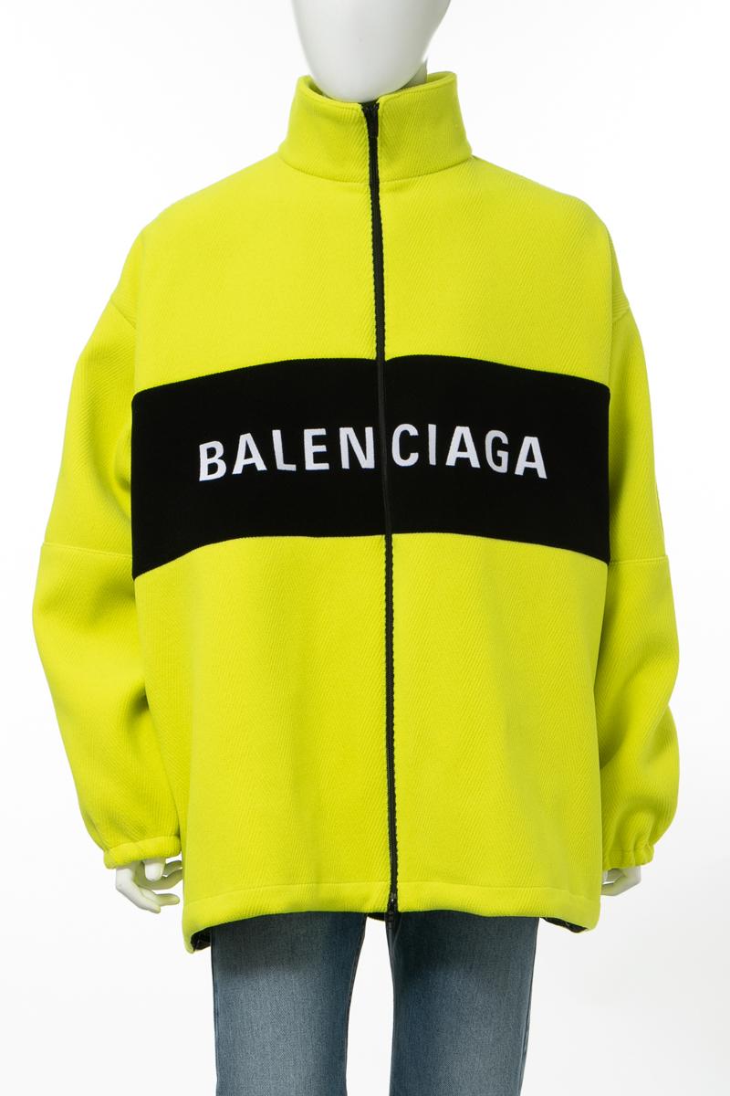 【6/1 0:00~6/3 9:59まで ポイント5倍】バレンシアガ BALENCIAGA ブルゾン メンズ 571439 TGU08 イエロー 送料無料 10%OFFクーポンプレゼント