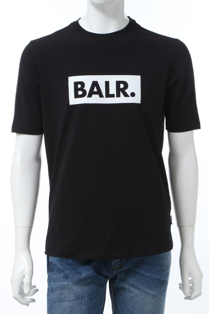 【全品10%OFFクーポン配布中!】ボーラー BALR. Tシャツ 半袖 丸首 クルーネック BLACK CLUB ATHLETIC メンズ B10002 ブラック 送料無料 楽ギフ_包装 2020年春夏新作 10%OFFクーポンプレゼント