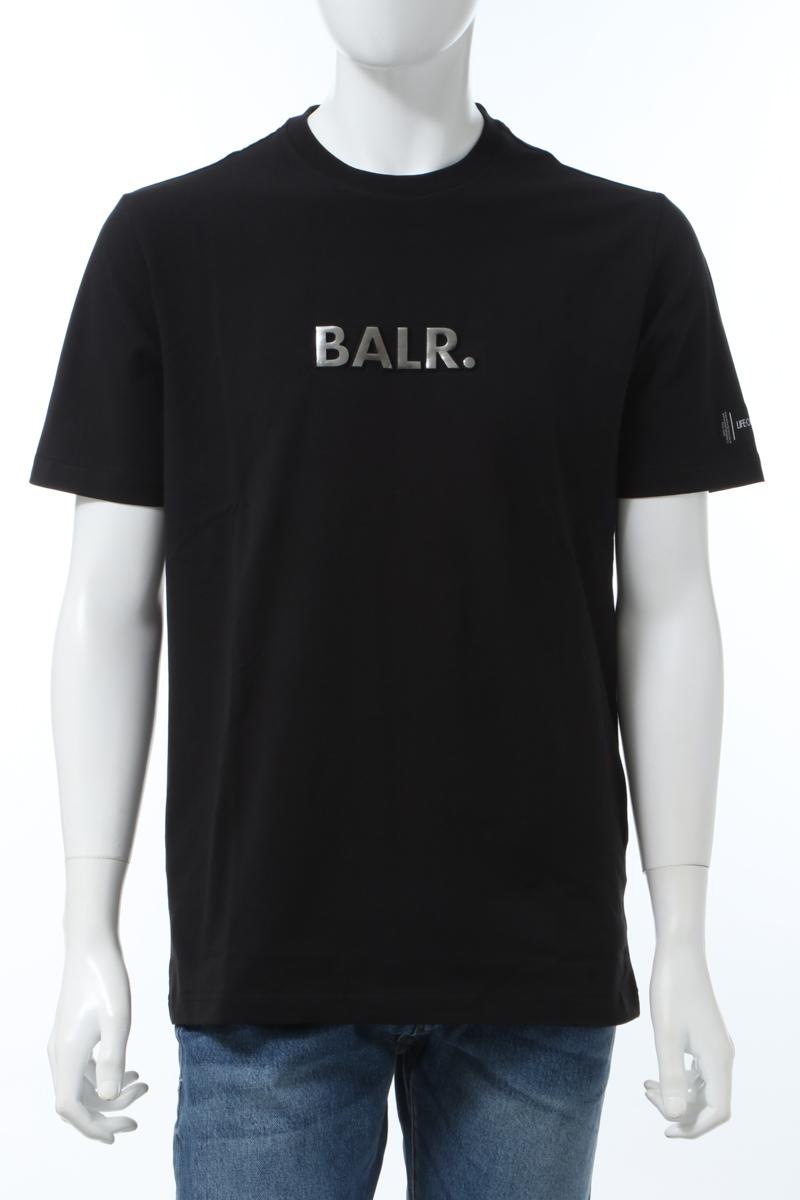 【全品10%OFFクーポン配布中!】ボーラー BALR. Tシャツ 半袖 丸首 クルーネック BLACK EMBOSSED STRA メンズ B10068 ブラック 送料無料 楽ギフ_包装 2020年春夏新作 10%OFFクーポンプレゼント