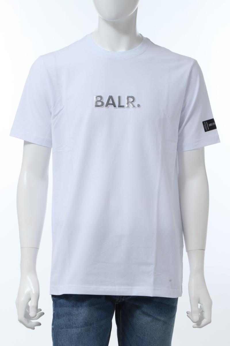 【全品10%OFFクーポン配布中!】ボーラー BALR. Tシャツ 半袖 丸首 クルーネック WHITE EMBOSSED STRA メンズ B10068 ホワイト 送料無料 楽ギフ_包装 2020年春夏新作 10%OFFクーポンプレゼント