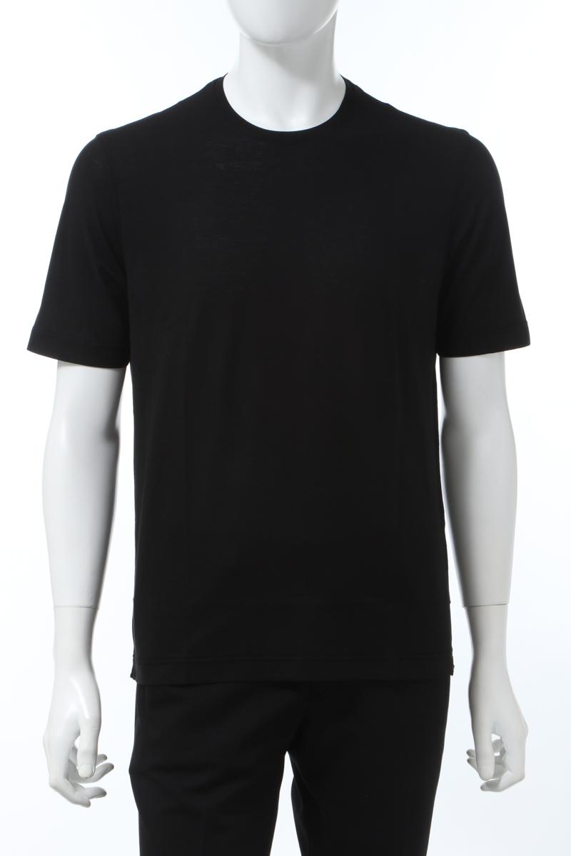 【全品10%OFFクーポン配布中!】ラルディーニ LARDINI Tシャツ 半袖 丸首 クルーネック EILTMC22 EI54025 999 メンズ EILTMC22EI54025 ブラック 送料無料 楽ギフ_包装 2020年春夏新作 10%OFFクーポンプレゼント