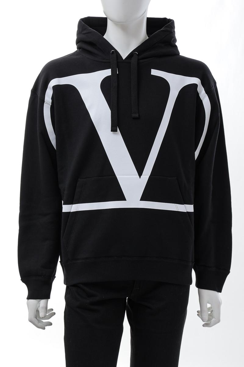 ヴァレンティノ Valentino トレーナー スウェットパーカー フーディー メンズ VV3MF15P73S ブラック 送料無料 楽ギフ_包装 10%OFFクーポンプレゼント 2021年春夏新作