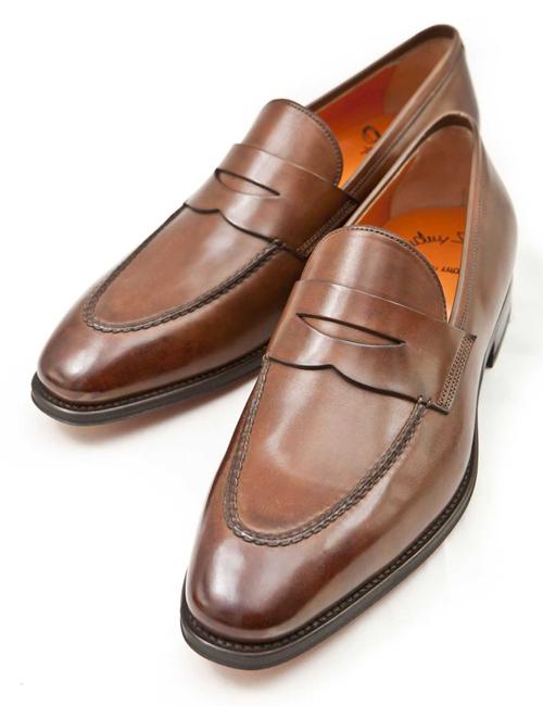 【スーパーSALE 10%OFFクーポン配布中】サントーニ Santoni ドレスシューズ 靴 メンズ 06949XB2IOENS55 ブラウン! 送料無料 10%OFFクーポンプレゼント 目玉商品 【ラッキーシール対応】
