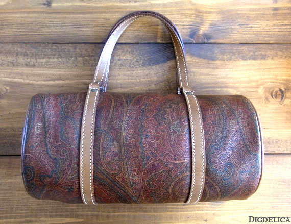 Vintage 【ETORO】ヴィンテージエトロ・ペイズリーバッグv813【DIGDELICA】トートバッグ 鞄